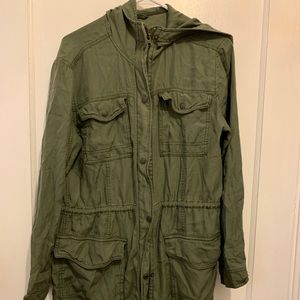 Abercrombie & Fitch military parka sz small
